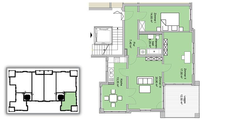 stadtpalais am volkspark 1 og we 12 wachtel wohnbauten. Black Bedroom Furniture Sets. Home Design Ideas