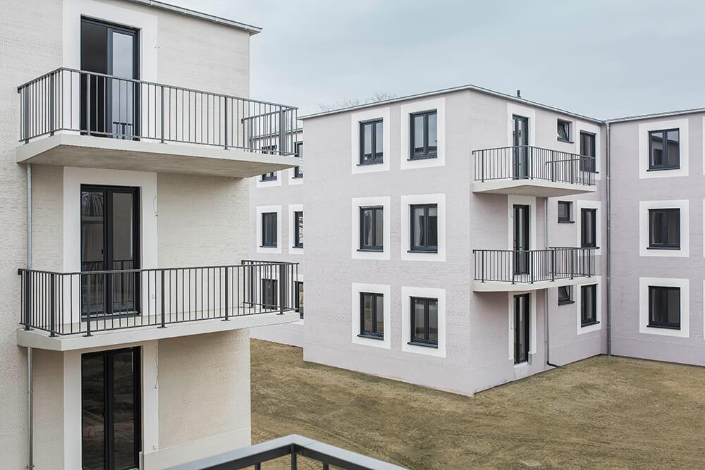 Häuser 1+2 fertiggestellt